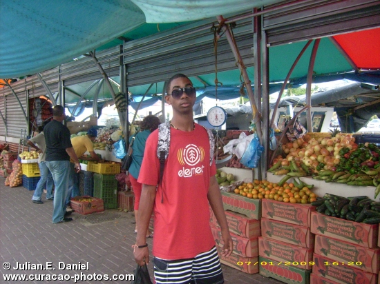 Posing at the Floating Market