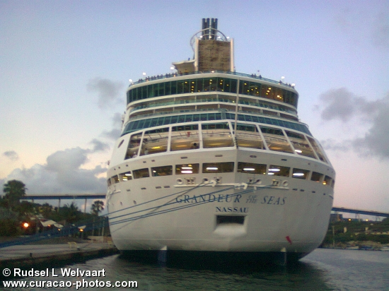 Grandeur of the seas Nassau in St.Ana Bay