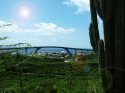 Queen Juliana Bridge from Fort Nassau