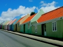 Row of houses at Berg Altena Curaçao