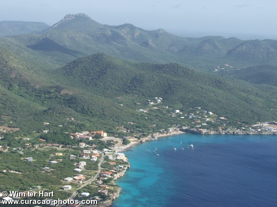 Aerial photo of Playa Forti