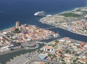 (109696 views) Aerial photo of Willemstad Curaçao