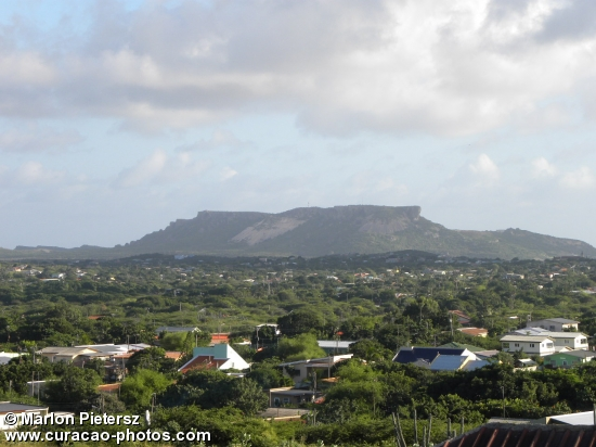 "The Mighty ""Tafelberg"" at East side Of Curacao"