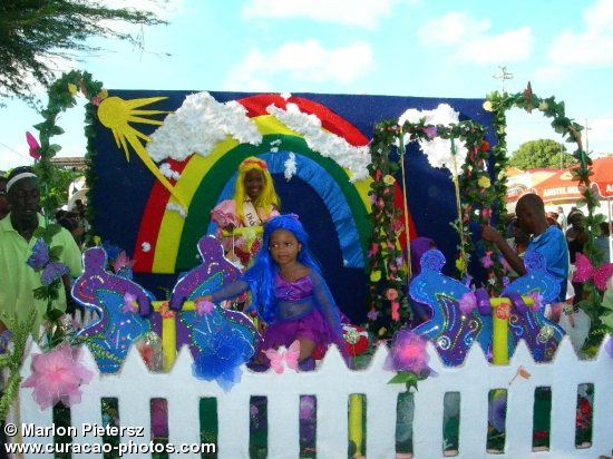 Children Carnival Parade on Curaçao