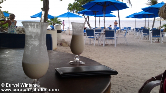 Pina colada at the Beach