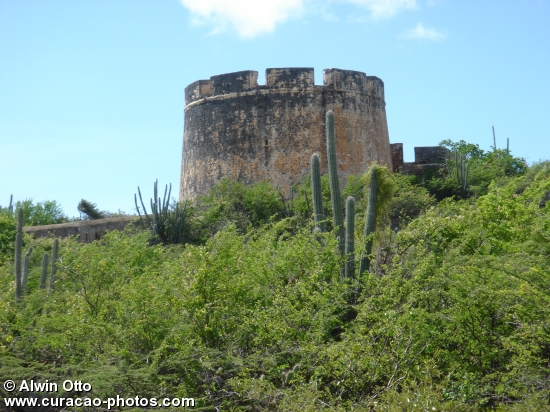 Old fort in Caracas bay