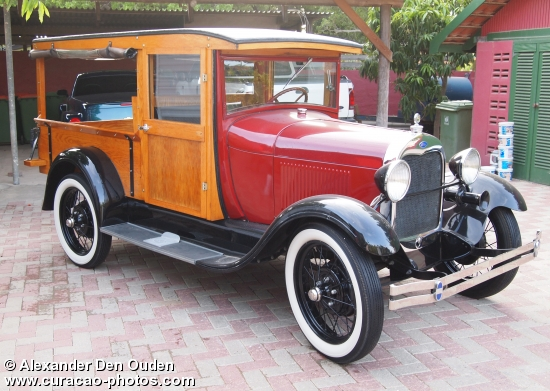 1928 Model-A Ford pick-up,oldest ever built, beautifully restored in Jan Thiel